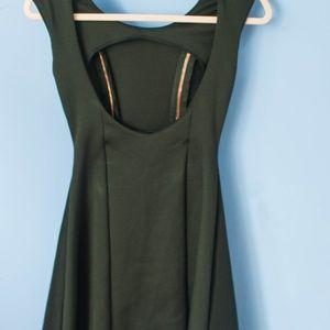 Nasty Gal Dresses - Nasty Gal Black Mini Skater Dress
